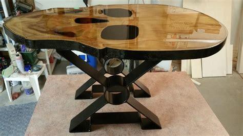 3d skull coffee table arizona custom wood designs