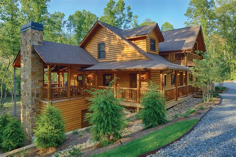 fall with satterwhite log homes appalachian country living