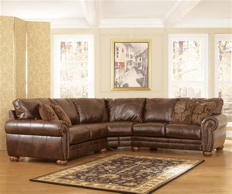 faux leather sectional sofa ashley 20 collection of ashley faux leather sectional sofas