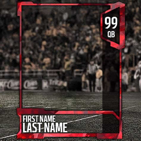 mut card template critique my mut 18 template thanks out to brask