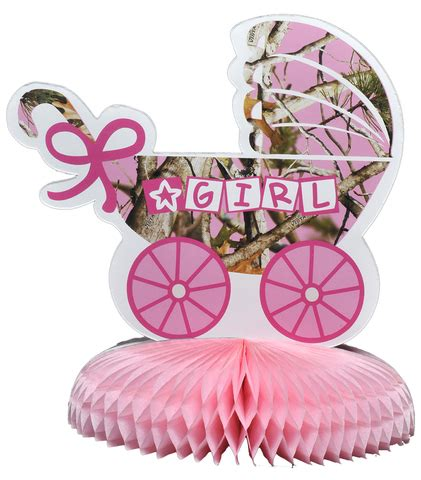 Camouflage Decorations For Baby Shower by Pink Camo It S A Baby Shower Centerpiece