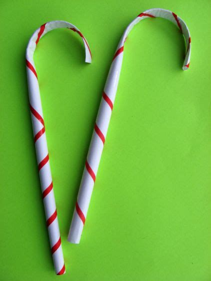 preschool crafts for kids paper candy canes christmas