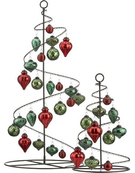 bronze swirl 36 quot ornament tree in christmas decorating