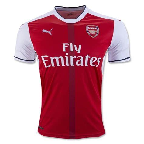 arsenal uniform 2016 17 premier league jerseys for all 20 teams world
