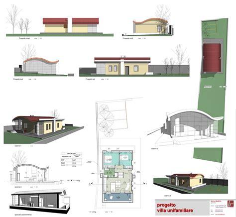 unifamiliari progetti progetto villa unifamiliare pinerolo 2010 enrico buniva
