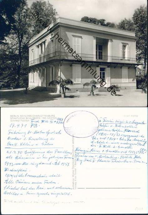 schinkel pavillon berlin historische ansichtskarten berlin charlottenburg schloss 02