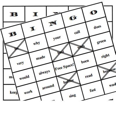 make your own bingo cards with words the world s catalog of ideas