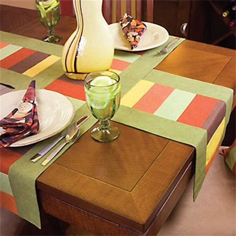 6 last minute table runner patterns you can make before