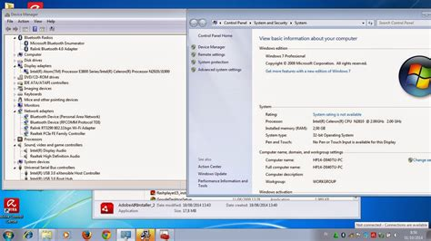tutorial instal windows 7 32 bit instal windows 7 32 hp 14 d040tu