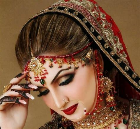 New Bridal Pics by Best Bridal Makeup Tutorial With Steps