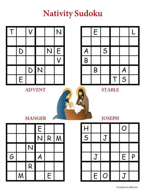 printable sudoku and word search puzzles christmas puzzles printable new calendar template site