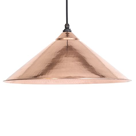 Yardley Pendant Light In Hammered Copper Period Home Style Hammered Copper Pendant Lights