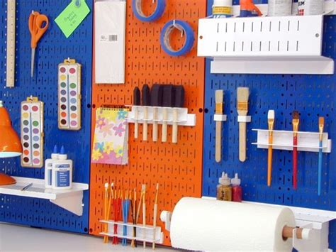 cool pegboard ideas pegboard pegboard ideas pinterest modern home office atlanta by wall control