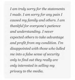 Apology Letter To A Friend Sle Liivefancii Amanda Bynes Threatens To Kill Parents Then Apologizes