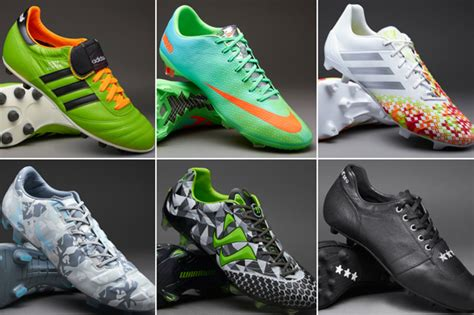 new football shoes 2014 best football boots the 30 best boots for footballers in