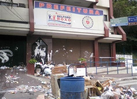 g1 coleta de lixo 233 interrompida em belford roxo e lixo