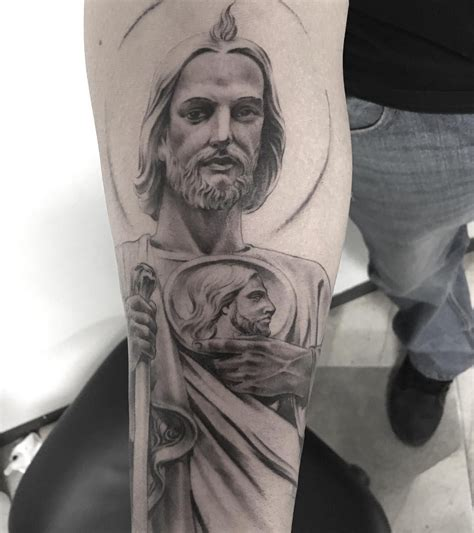 fotos de tattoo completa colecci 243 n de fotos de tatuajes de san judas tadeo