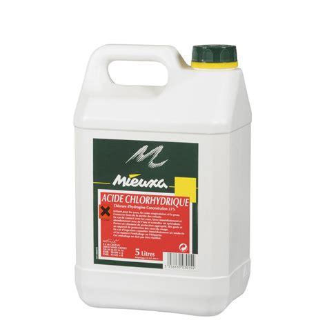 Acide chlorhydrique MIEUXA, 5 l   Leroy Merlin