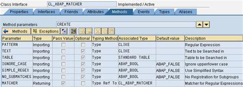 regex pattern abap 字符串处理 abap中的正则表达式 江正军 博客园
