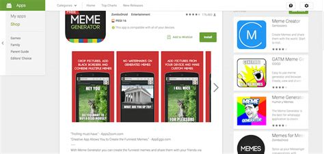 Meme Generator App Android - how to make memes to compliment your content