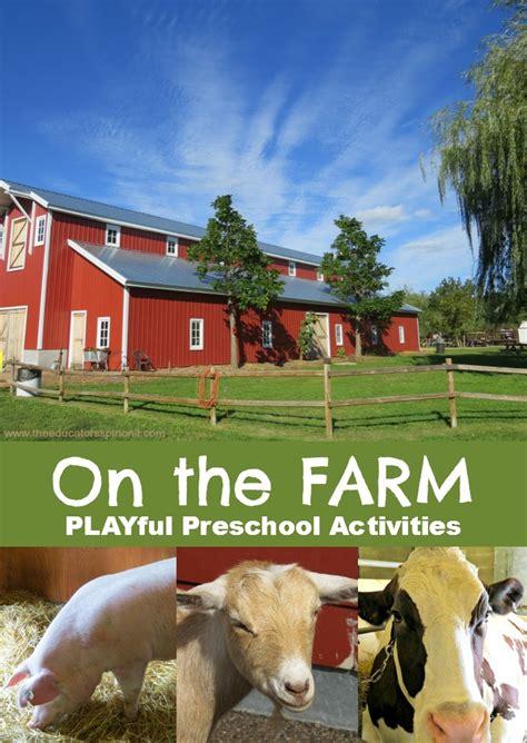 themes in the book animal farm preschool activities farm theme make a mystery animal