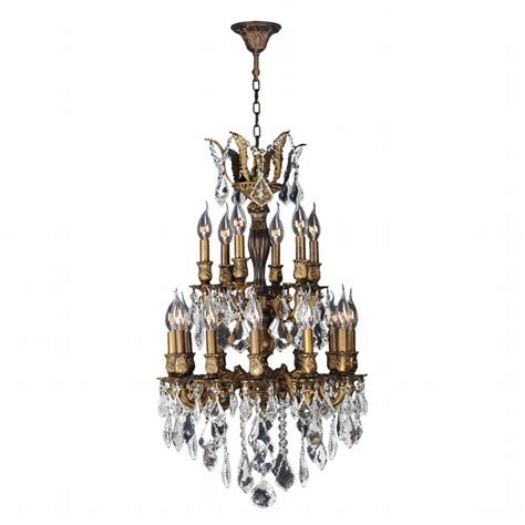 versailles chandelier w83345b19 versailles 18 light antique bronze finish and