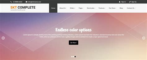 auto layout header skt themes launches complete pro wordpress theme business