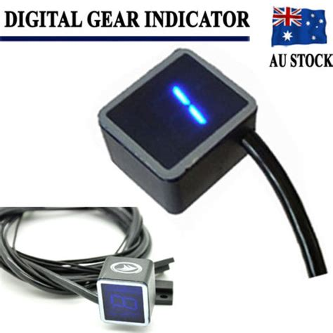 S F Lever Indicator Intl 2016 universal digital led gear indicator motorcycle