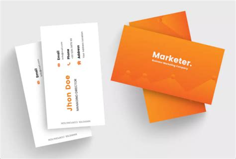 Marketing Business Cards Templates by 35 Marketing Business Card Templates Free Designs