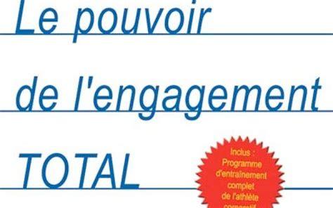 Le Personal Mba by Le Pouvoir De L Engagement Total De Jim Loehr Et Tony Schwartz