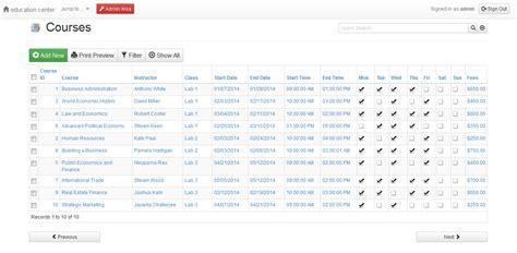 Spreadsheet Web Application Open Source by Free Open Source Web Applications Web Database
