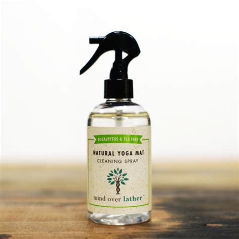 Clean Mat With Tea Tree by Mind Lather Eucalyptus Tea Tree Mat Cleaning