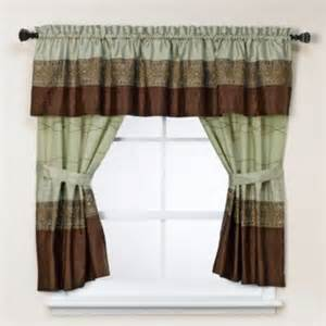 Green Bathroom Window Curtains Kas Romana Bathroom Window Curtain Pair In Green Contemporary Curtains By Bed Bath Beyond