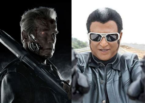 film robot schwarzenegger arnold schwarzenegger not to be a part of rajinikanth s