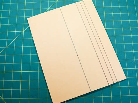 scoring board for card make a diy scoring and embossing board greeting card