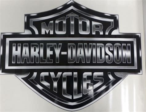 Big Harley Stickers 2 harley davidson motorcycle trailer big decal