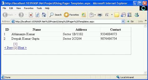 pager template asp net gridview gridview control in asp net part 2