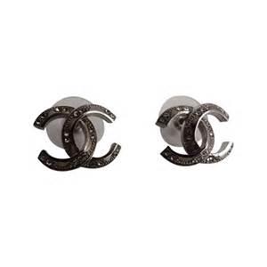 boucles d oreilles chanel cc acier r 233 f a32969 instant luxe
