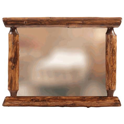 32 x 36 mirror vintage cedar log mirror 32 x 36