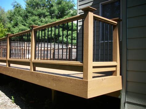 Aluminum Railing Balusters Deck Railing Metal Balusters Deck Design And Ideas