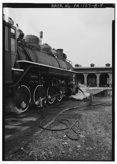File:VIEW OF LOCOMOTIVE POISED OVER ASH PIT (NOT VISIBLE