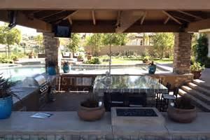 backyard cabana cabanas outdoor living spaces gallery western outdoor design and build serving san diego orange