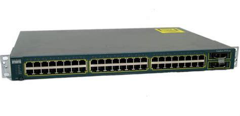 Switch Cisco 2950 cisco ws c2950g 48 ei catalyst 2950 series 10 100 1000 ethernet switch 48 port ebay
