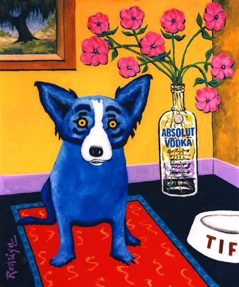 george rodrigue blue musings of an artist s blue and intellectual property guest entry