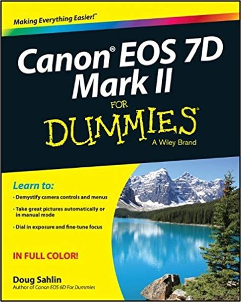 cannon books canon eos 7d ii for dummies pdf free it ebooks