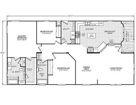 like this floor plan for a 30x60 size homes