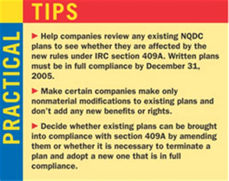 Section 409a Regulations by Play By The