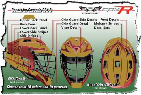 lacrosse helmet wrap template lacrosse helmet wrap template lacrosse decals for cascade