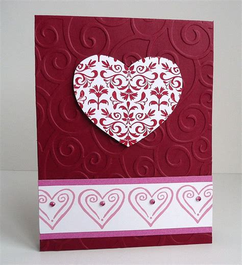 Handmade Valentines Cards For - 25 happy valentine s day cards lovely ideas for