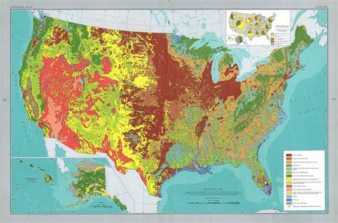 usa vegetation map the national atlas